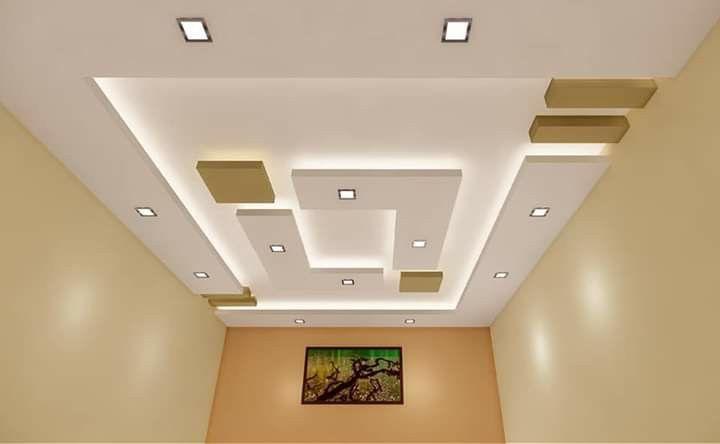 سقف های کاذب مشبک رنگی و طرح دار