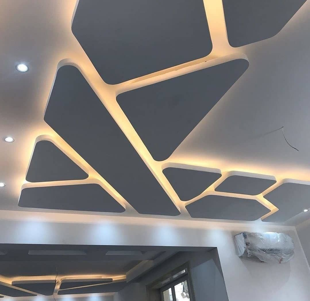 نکاتی برای طراحی سقف سالن پذیرایی با استفاده از کناف