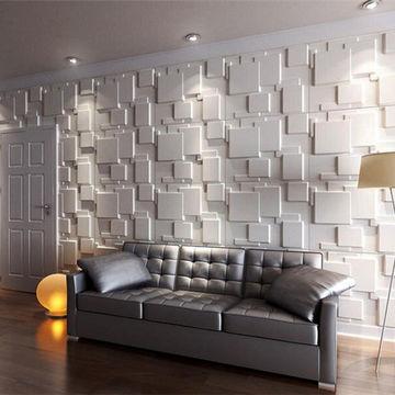 انواع دیوار پوش پی وی سی برای فضای داخلی